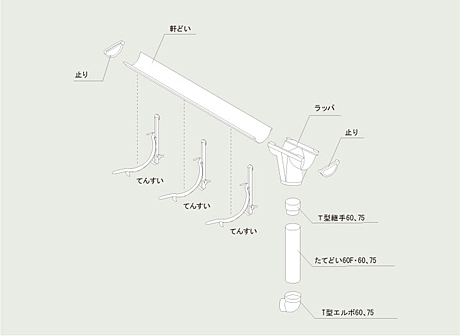 直線タイプ1.8m